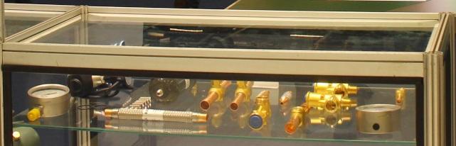 CO2 - Componentes visão stand
