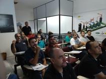 Engo Marcos Euzebio apoiando o Curso Sistemas RAC